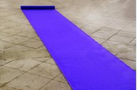 Wholesale 20 Meters roll Wedding Favors Purple Nonwoven Fabric Carpet Aisle Runner For Wedding Party Decoration Supplies Shooting Prop