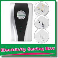 Wholesale Electricity Saving Box Energy Saver Energy Saving Power Electric Device For LED Light Home Family Use US EU AU Plug V V OM CG7