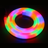 Wholesale neon sign RGB led X18MM V V mini hot style led neon signs for Night Bar Disco Christmas Party neon flex rope light