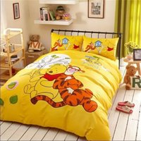 baby bedding uk - Vivid Winnie Pooh Bedding UK Baby Bed Sets Duvet Bedding Sets New Arrival