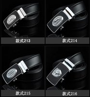 active leisure design - designs Fashion belt Genuine Leather belts Waist Strap Belts Automatic Buckle Black leisure business leather belts DHL