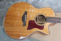 Wholesale Custom Shop K24 CE KOA Acoustic Electric Guitar Cutaway with B Band Pickup K24 ce strings
