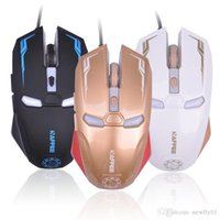 Wholesale New Iron Man usb retail mouse wireless optical Mouse gaming mouse Mute Button Silent Click DPI Adjustable computer mice