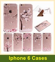 apple blossom flower - iPhone6 Case Apple Sakura Flower blossom Petals fluttering flying Cute Design TPU Rubber Thin Case for iPhone S iPhone