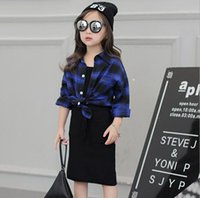 autumn children s clothing - Summer autumn children clothes girl shirt black dress pieces suit fashion kids clothing s l