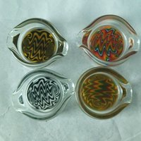 Wholesale New glass ashtray small bowl for glass bongs water pipe oil rig decorated type cabinet and delicate