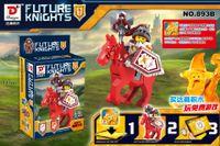 beast warrior - 240pcs set Nexo Knights of the future Building Blocks Castle Warrior Clay Beast Master Aaron Macy Flame Thrower Smasher Minifigure Toys