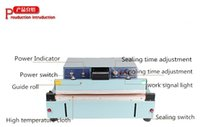 Wholesale FKR Semi automatic aluminum sealing machine Pedal Bag Sealing Machine