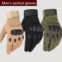 Wholesale Mechanix Military Tactical Army Combat Slip resistant Carbon Fiber Riding Motorcycle Knuckle Shooting Bicycle Motorcross Cycling Full Gloves