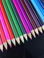 Wholesale 12 colors colors Color pencil Secret Garden wound packages colour pencil student pupil scholastic wooden club drawing DHL Fedex Free