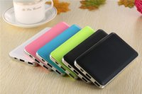 abs polymers - 10000mAh Power Banks for Cell Phone High Capacity ABS Rubber Painted Polymer Lithium Battery Power Banks for iPhone A511