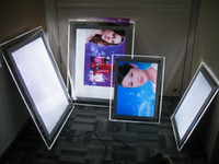 Wholesale Factory Outlet A1 Crystal light box Ultra Slim LED light box