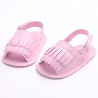 barefoot soles - 2016 Summer New Fashion Baby Moccasins PU Leather Kids Soft Sole Sandals Children Barefoot Shoes pairs Children First Walker