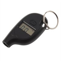 Wholesale Mini LCD Digital Tire Tyre Keychain Air Pressure Gauge For Car Auto Motorcycle