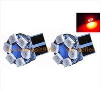 Wholesale 100PCS T10 W5W non Canbus bulb light x1210 SMD LED Blue wedge car v price