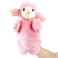 Wholesale High Quality Hand Puppet Cute Animal Plush Hand Puppets Childhood Soft Toys Learning Teaching Tools Boy amp Girl Wonderful Gifts