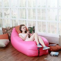 Wholesale Inflatable Bed Portable Travel Camping Outdoor Folding Sofa Hangout Beach Chair Lazy Bag Modern Furniture