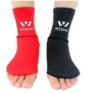 Wholesale itness Body Building Taekwondo Karate good quality Elasticity Cotton Sports Instep protector Sanda Boxing foot thickening Support foot