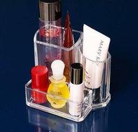 Wholesale FM0044 Desk Organizer Box x9 x11 cm PS Namecard Pen Storage Box Hard Strong Usage Recommend PayPal