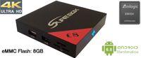 e8 android - Sure box brand E8 Smart TV BOX K Android Amlogic S905X Media Player KODI Mini PC GHz Wifi Miracast Airplay DLNA VS MXQ