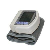 Wholesale Diagnostic tool Portable Digital Wrist Cuff Blood Pressure Monitor Heart Beat Test AH B Sphygmomanometer Blood Pressure Meter