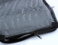 aquarium fish bags - Zippered Aquarium Fish Tank Black Mesh Isolation Net Bags