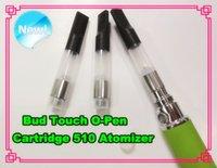 Wholesale Newest Bud Touch O Pen Vape Pen Cartridge CE3 Atomizer Disposable Mini Clearomizer CBD Co2 Cartridge Wax Oil Vaporizer Ecig Tank