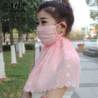 air spring manufacturers - 2016 new spring and summer long jacquard neck sunscreen anti dust masks thin air mask manufacturers selling