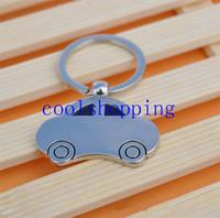 Wholesale Metal Key Ring Vintage Car Shaped Vehicle Key Chain Keyring KeyFob Pendant Decoration Creative Gift