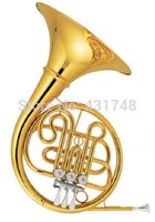 Wholesale Single Row French Horn Valve Flats in Bb With Wood case Musical instruments EMS