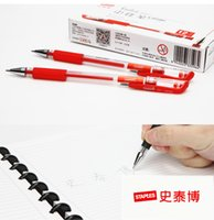 Wholesale Office stationery black blue ink pen pen pen water pen with mm students