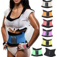 belly bands - 11 Colors S XL Body Shaper Slim Waist Tummy Girdle Belt Waist Cincher Underbust Control Corset Firm Waist Trainer Slimming Belly Band