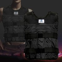 Wholesale Weighted Vest Adjustable Weight Jacket Exercise Fitness Boxing Training Waistcoat Invisible Weight Sand Clothing Empty
