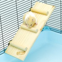 Wholesale Natural Wood Small Animal Climbing Ladder Hamster Ladder Bridge inch Long and inch Wide