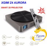2016 XGIMI Z4 Aurora Smart home cinéma WIFI Android 4.4 projecteurs Full HD LED 4K DLP soutien 1080P 3D TV cinéma pour maltimedia