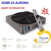 android cinema - 2016 XGIMI Z4 Aurora Smart home theatre WIFI Android projectors Full HD LED K DLP support P D TV cinema for maltimedia