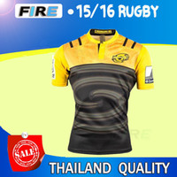 Wholesale 2016 High Quality All Blacks Rugby jerseys Hurricanes Stormers Crusades Warriors Welsh Chiefss Auckland Blues Men Rugby Football Shirt
