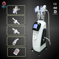 Wholesale Professional vertical hot sale salon use Double Cryolipolysis Handles cavitation rf lipo laser cryolipolysis slimming machine