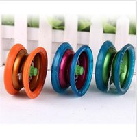 Wholesale 5PCS Fashion Metal ball bearing String Trick yoyo Ball Funny yoyo Professional educational toys Alloy yoyo ball Kids Toys