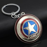 belly bag purse - Marvel Comics Super Hero Captain America Avengers KeyRings Keychains Holder Purse Bag Buckle Accessories Gift Key Chains K102