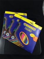 Wholesale 24 colors Secret Garden Books Pencil Enchanted Forest Books Pencil The animal Kingdom Books Painting pens DHL Fedex Free