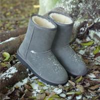 australian leather shoes - female fur military boots ankle snow Berkane women winter leather australian girls boots suede shoes women footwear