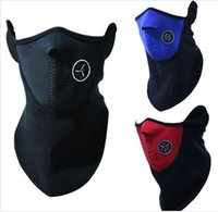 Wholesale Winter Face Mask High Quality Outdoor Sport Mask Ski Warm Balaclava Half Face Mask For Cycling Sport For Promotion hight quality free shippi