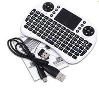 Wholesale Rii I8 Smart Fly Air Mouse Wireless Bluetooth Keyboard Remote Control Touchpad For Android Box MX3 M8S