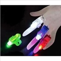 Wholesale Of unusual gadgets high tech electronic products novel and creative gifts for children finger lamp light beam