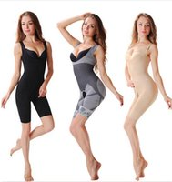 bamboo shapewear - Promotion Women s body shaper High Quality Slim Corset Slimming Suits Bodysuit Shapewear Bamboo Charcoal Sculpting Underwear