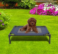 Wholesale New Indoor Outdoor Portable Dog Cat Sleep Bed Elevated Camping Pet Cot