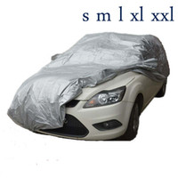 Wholesale Indoor Outdoor Full Car Cover Sun UV Snow Dust Resistant Protection Size S M L XL Car Covers