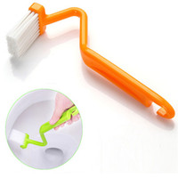 Wholesale 10pcs Plastic toliet cleaning brushes Good cleaner to brush the blind angle Useful household cleaning tools