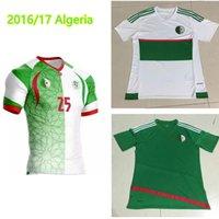 algeria football soccer - Maillot de Foot Algeria green white Riyad Mahrez Soccer Jerseys Algeria Football SHIRTS Survetement Football Jerseys Shirts